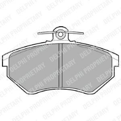 Brake Pads Front 280mm Vented